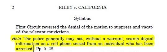 riley v. california